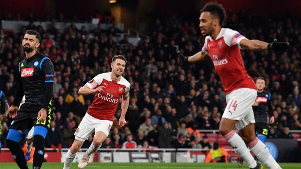 Europa League, Chelsea 1 to 1st Frankfurt. Arsenal, three goals at Valencia