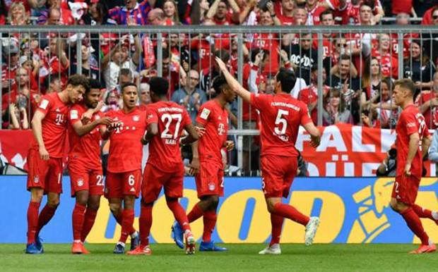 Bundesliga: Bayern and champion of Germany!