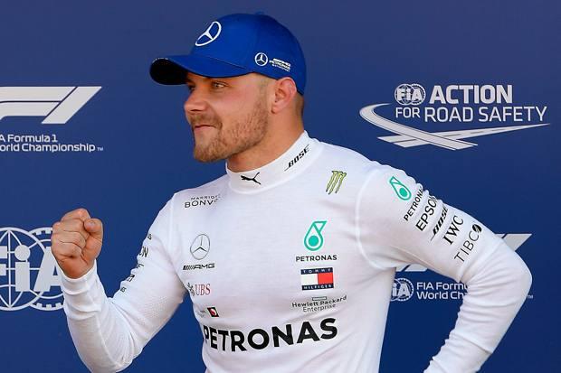 Japanese GP: Valtteri Bottas wins as Mercedes clinch F1 2019 constructors' title