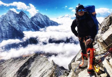 Mountaineering: Gurkha Nirmal climbs the sixth of its 14 highest mountains in the world