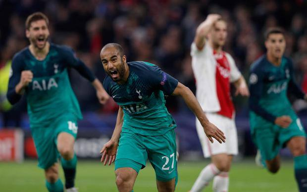 Champions: Crazy Tottenham! 3-2 at 95 ′ at Ajax and flies to the final