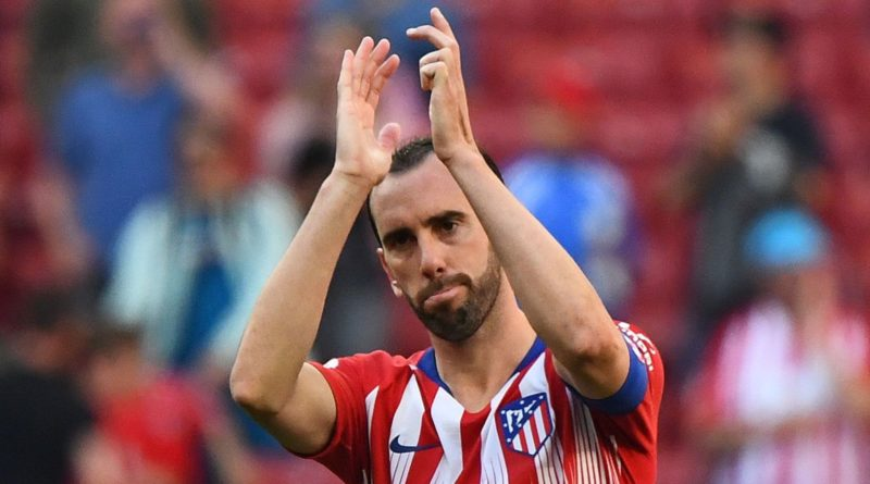 Godin says goodbye to Atletico in tears