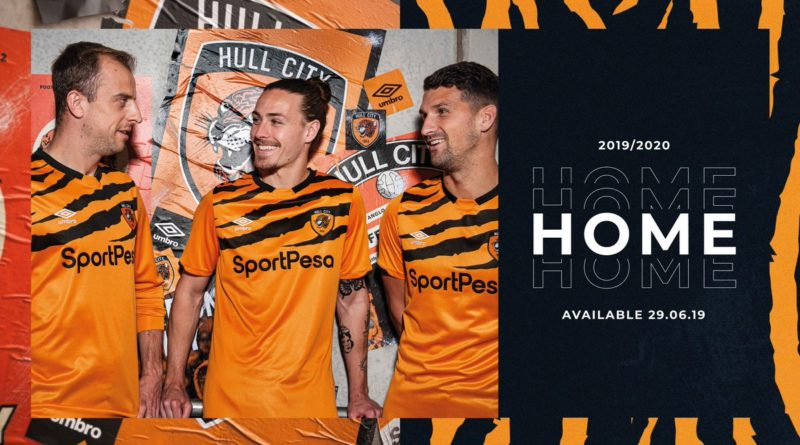 The Hull City presents the official jersey for next season