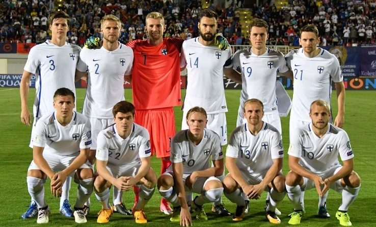 Europe: Bosnia vs Finland, statistics and formations