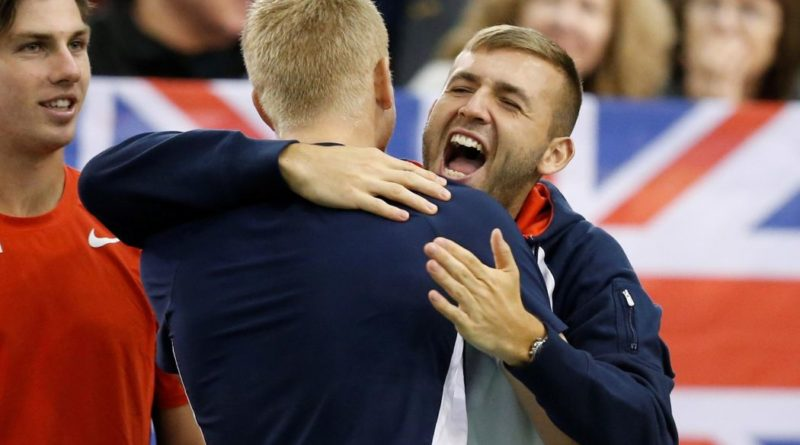 Davis Cup finals: Dan Evans and Kyle Edmund send Great Britain into semi-finals