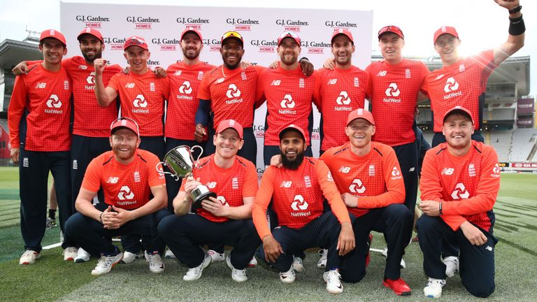 Eoin Morgan says England have a 'good headache' after fringe players impress in New Zealand