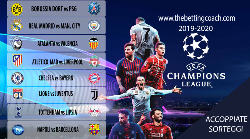 Champions League Last 16 Draw Manchester City Draw Real Madrid