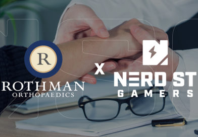 Nerd Street Gamers joins forces with Rothman Orthopaedic Institute