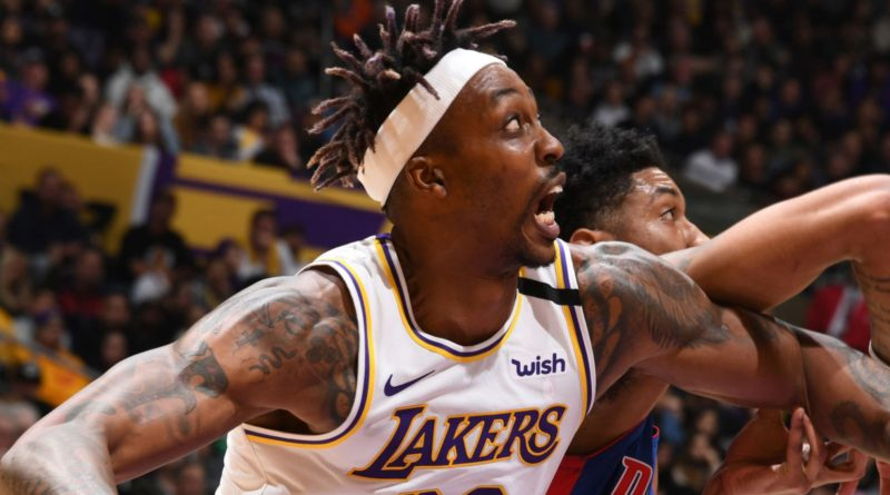 Los Angeles Lakers big men revel in block party in win over Detroit Pistons