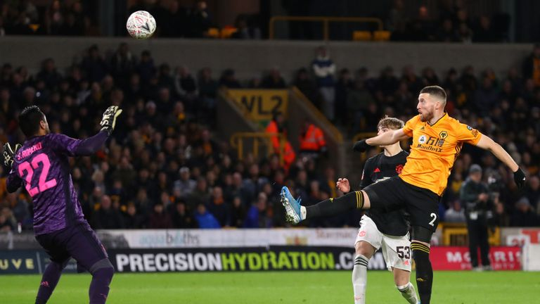 FA Cup: Wolves vs Manchester United ends in a draw.