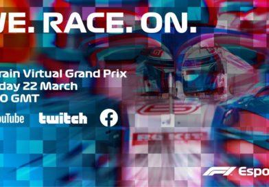 Formula One is launching virtual series to overcome coronavirus