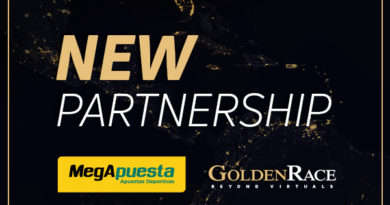 Golden Race's virtual sports to reach Colombian platform MegApuesta