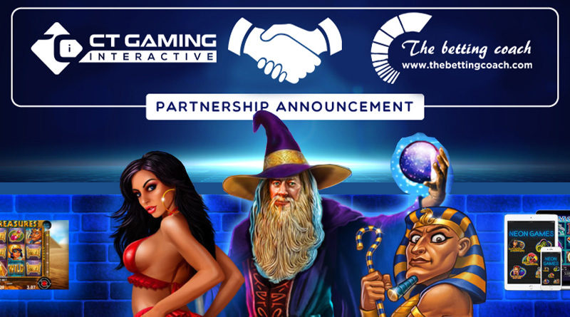 CT Gaming and The Betting Coach announce partnership