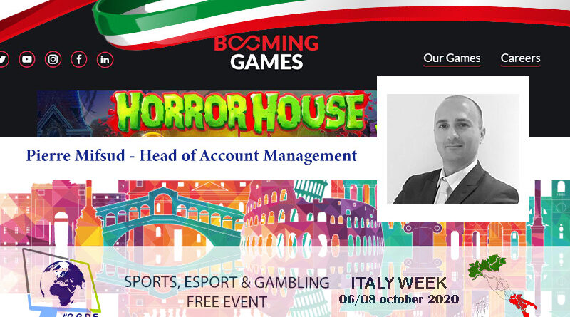 Italy Week: The Betting Coach meets Pierre Mifsud – Head of Account Management of Booming Games