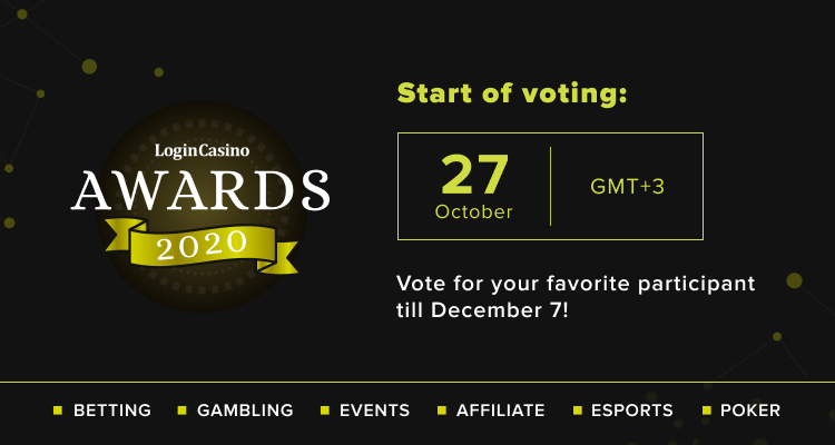 Login Casino Awards 2020 Voting Starts