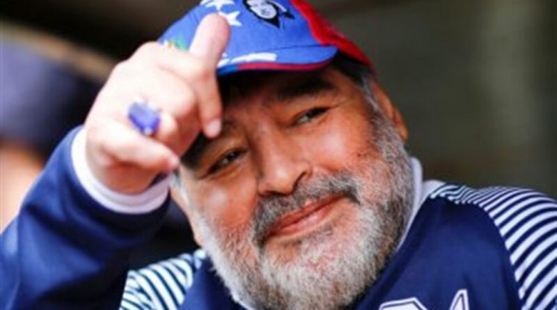 R.I.P. Diego Armando Maradona