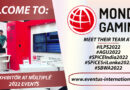 Eventus International Welcomes Mondogaming LTD to a Selection of 2022 Events