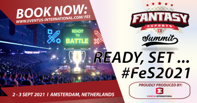Next Event by Eventus International: Fantasy eSports Summit (FeS) 2021